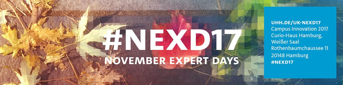 #NEXD: November Expert Days
